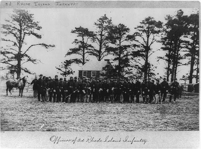 Officers of 2d Rhode Island Infantry