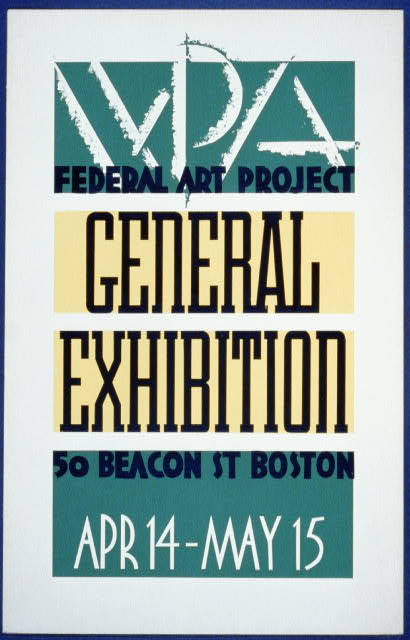 WPA Federal Art Project general exhibition