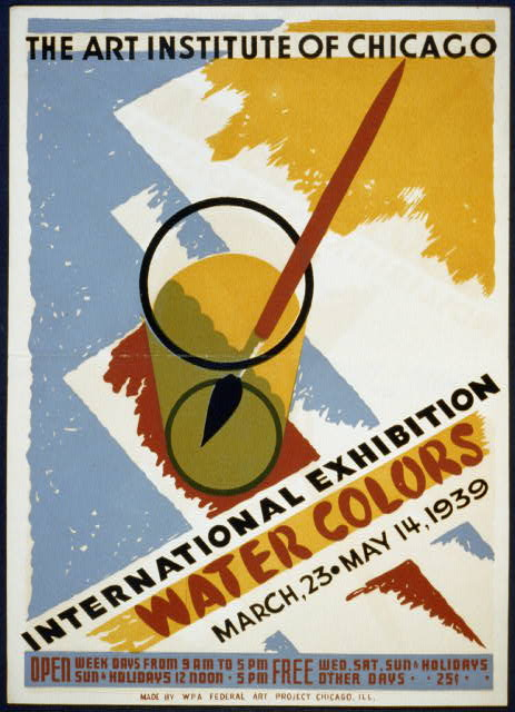 International exhibition - Water colors The Art Institute of Chicago - March 23 - May 14 1939.