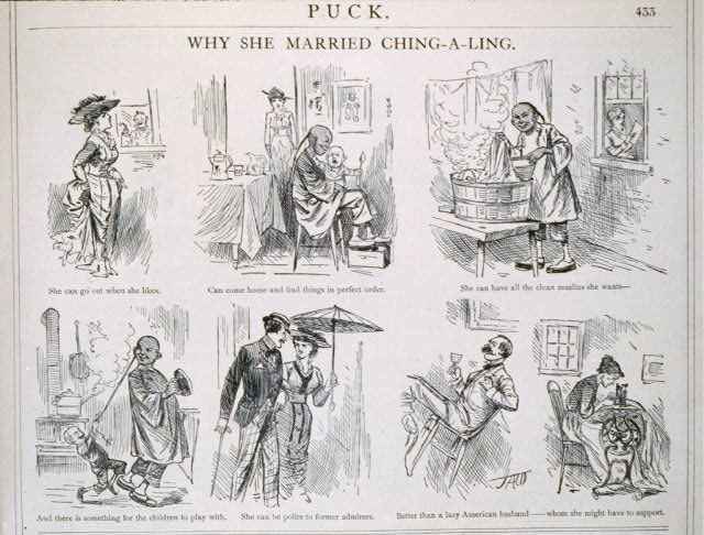 Why she married Ching-A-Ling