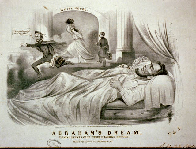"Abraham's dream!--""Coming events cast their shadows before"""