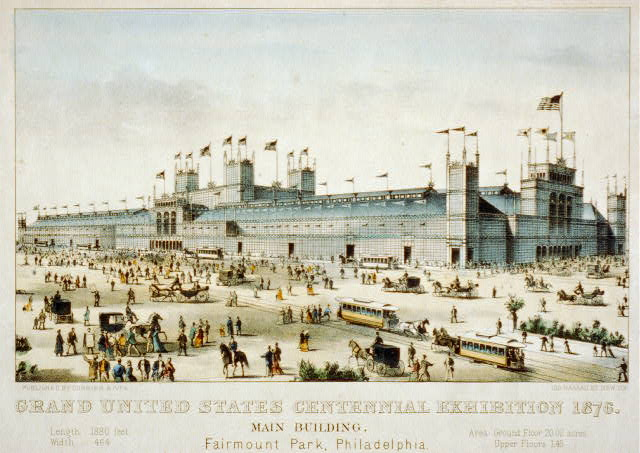 Grand United States centennial exhibition 1876: main building, Fairmount Park, Philadelphia