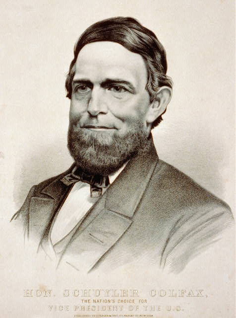 Hon. Schuyler Colfax: the nation's choice for vice president of the U.S.