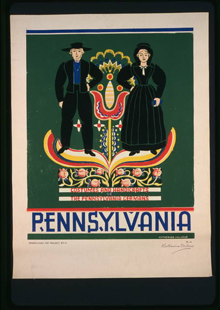 Pennsylvania Costumes and handicrafts, the Pennsylvania Germans /
