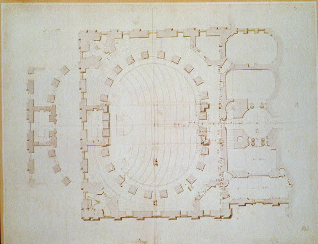 [United States Capitol, Washington, D.C. Plan, principal story of south wing]
