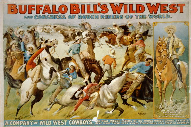 Buffalo Bill's wild west and congress of rough riders of the world