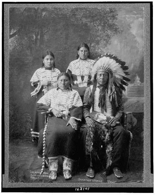 """Stampede & family """"Sioux"""""""
