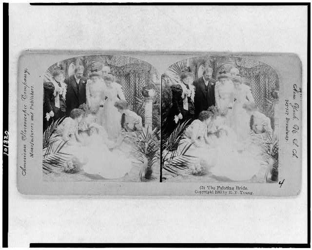 The fainting bride