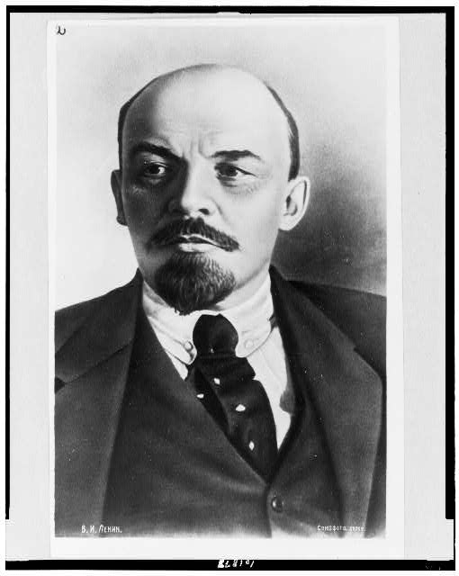 [Vladimir Ilʹich Lenin, head-and-shoulders portrait, facing slightly left]