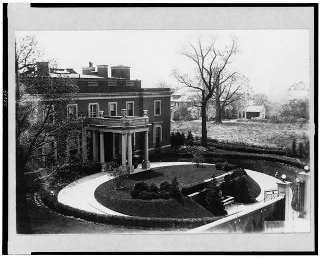 [Henry White residence, 1624 Crescent Place, N.W., Washington, D.C.]