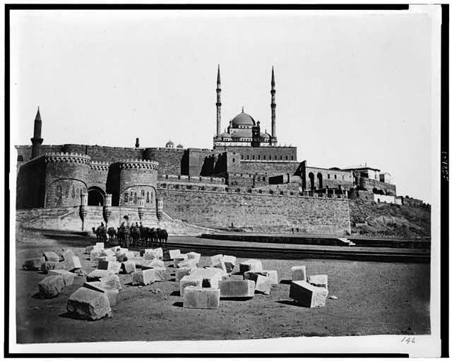 [Cairo. Citadel and Mosque of Mohammet Ali]