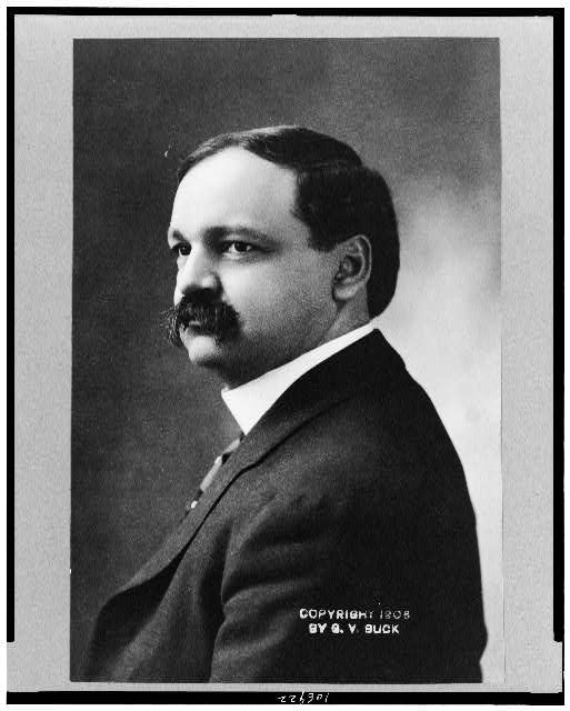 [Charles Curtis, head-and-shoulders portrait, facing left]