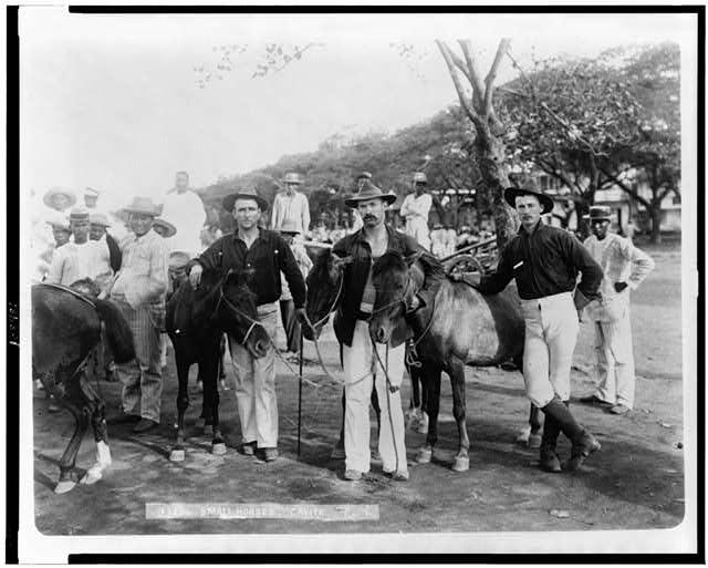 Small horses, Cavite, P.I.