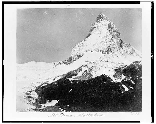 Mt. Cervin. Matterhorn