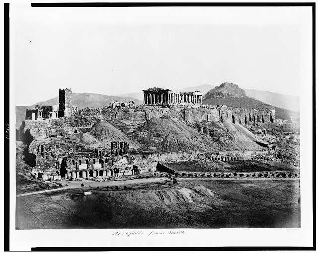 Acropolis from south
