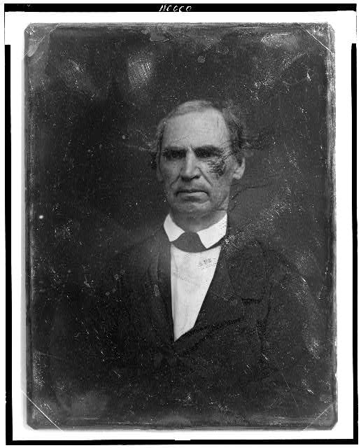[Unidentified man, about 50 years of age, head-and-shoulders portrait, nearly facing front]
