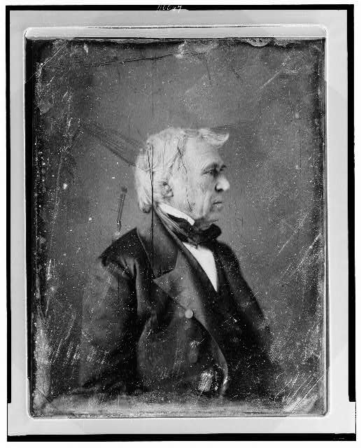 [Zachary Taylor, half-length portrait, head in profile to the right]