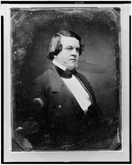 [Howell Cobb, half-length portrait, three-quarters to the right]