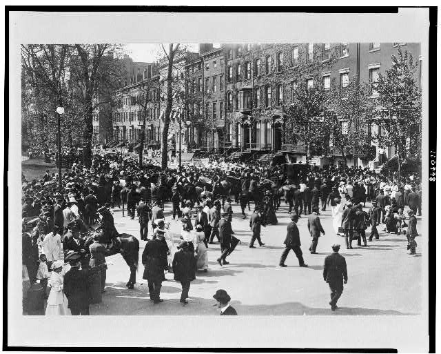 [Suffrage parade, New York City(?)]