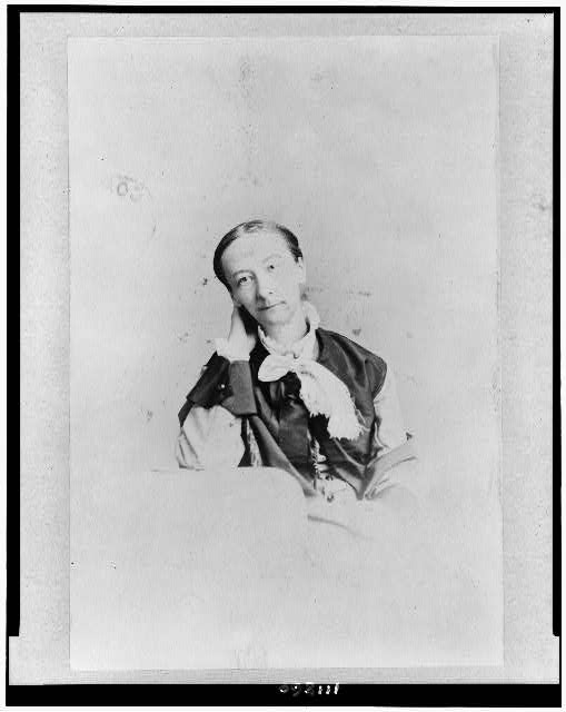 [Susan Bogart Warner, half-length portrait, seated, facing slightly left]