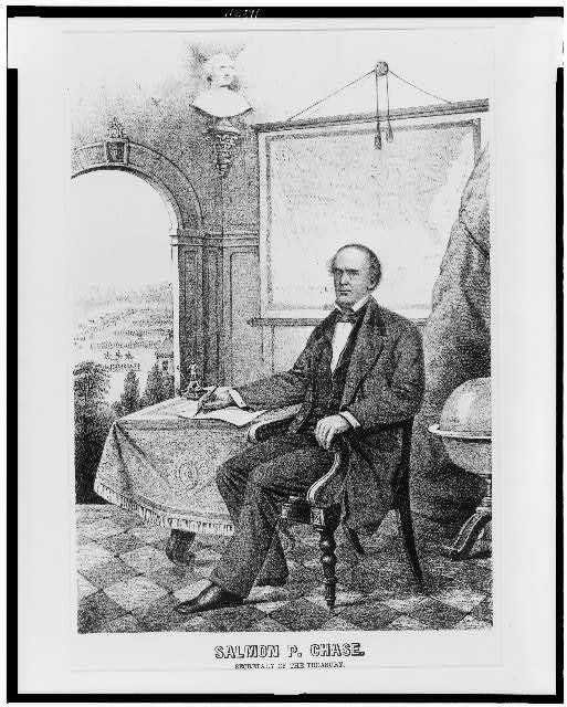 Salmon P. Chase--Secretary of the treasury