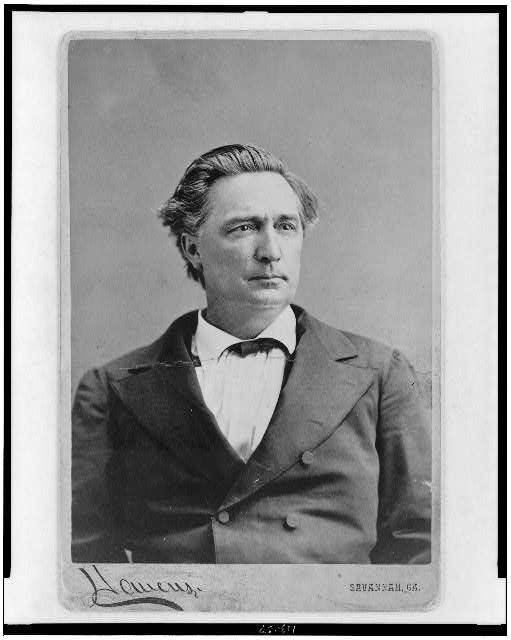[Alfred H. Colquitt, head-and-shoulders portrait, facing right]