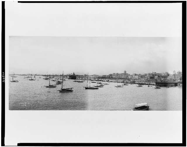 [Panorama photograph of Chicago]