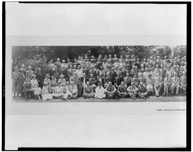 Eighth International Ornithological Congress, Oxford, 1934