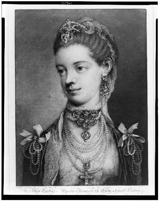 Her most excellent majesty Charlotte Queen of Great Britain