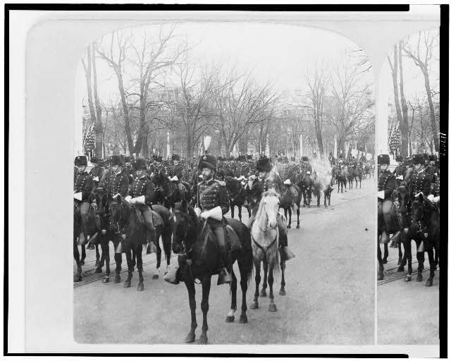 President's Escort, Troop A, Inauguration of McKinley, 1901