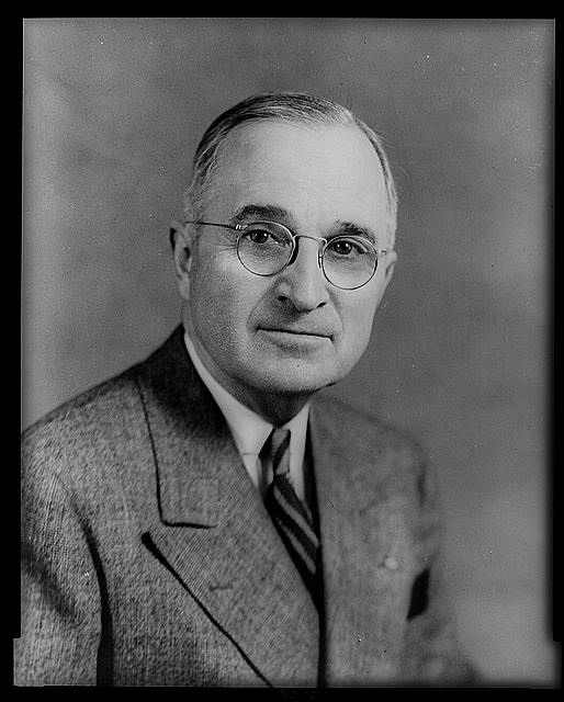 [Harry Truman, half-length portrait, facing front]