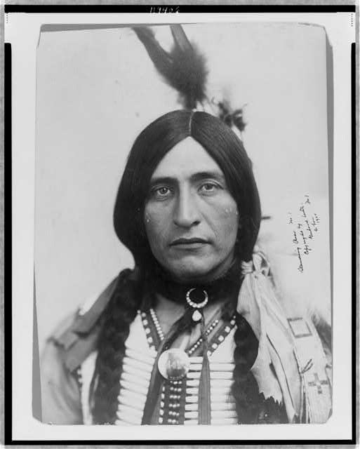 [Standing Bear, head-and-shoulders portrait, facing front]