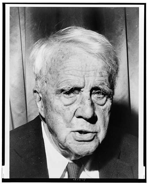 [Robert Frost, bust portrait, facing front]