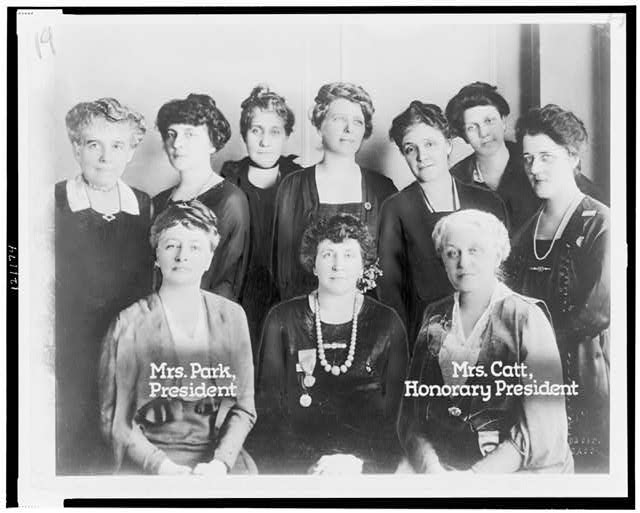 Board of Directors National League of Women Voters--Chicago Convention, February 1920