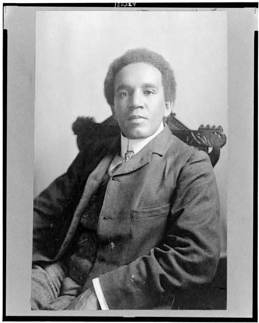 [Samuel Coleridge-Taylor, three-quarter length portrait, seated, facing front]