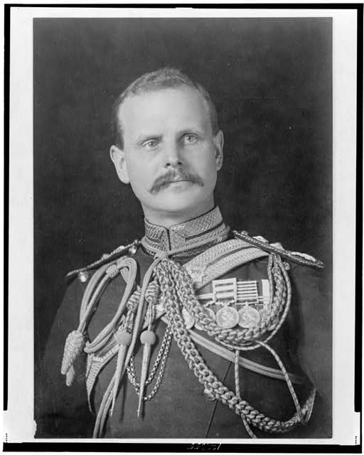 [Gen. Sir William Birdwood, head-and-shoulders portrait, facing slightly right, in uniform]