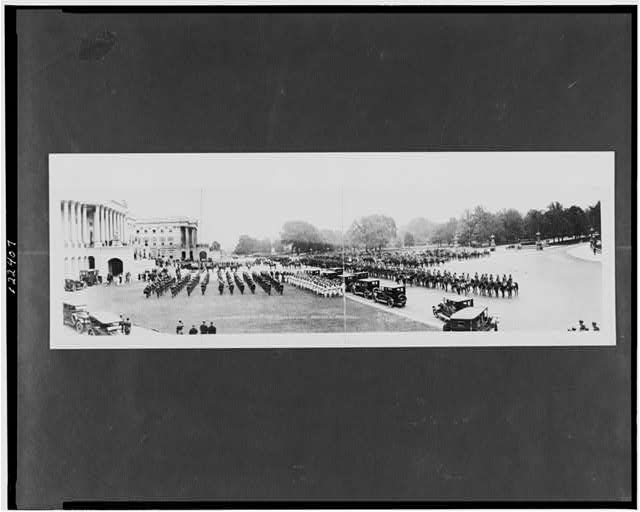Funeral ceremonies of the late President Harding, U.S. Capitol, Washington, D.C., August 8, 1923