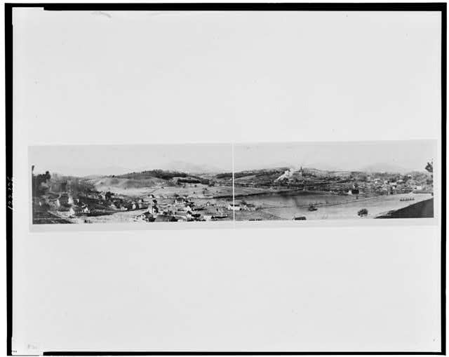 Overlooking plant of Champion Fibre Company, Canton, N.C. (from south side)