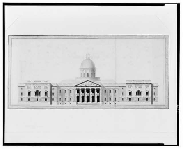 [United States Capitol, Washington, D.C. East front elevation, rendered]