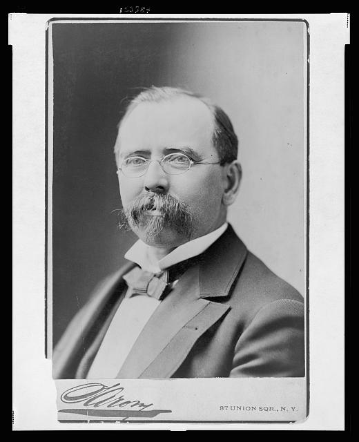 [Hon. Wm. R. Grace, Mayor of New York City, head-and-shoulders portrait, facing slightly left]