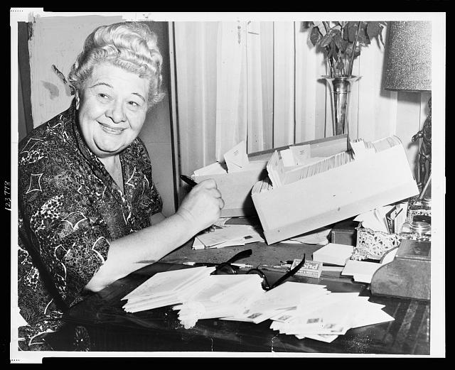 Sophie Tucker - the personal touch