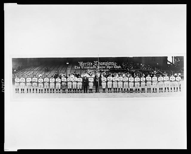 World's Champions, the Cleveland base ball club, American League, season 1921