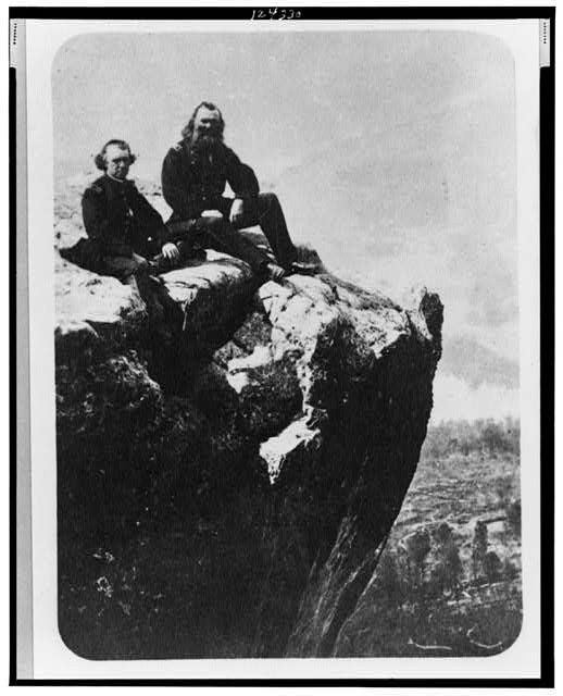 General McCallum on Lookout Mountain