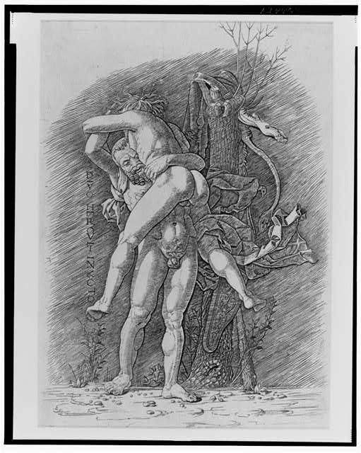 [Hercules and Anteus]