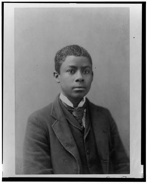 [African American man, half-length portrait, facing slightly right]