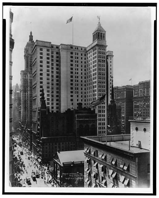 Telegraph and Telephone Bldg., B'way and & Fulton St.