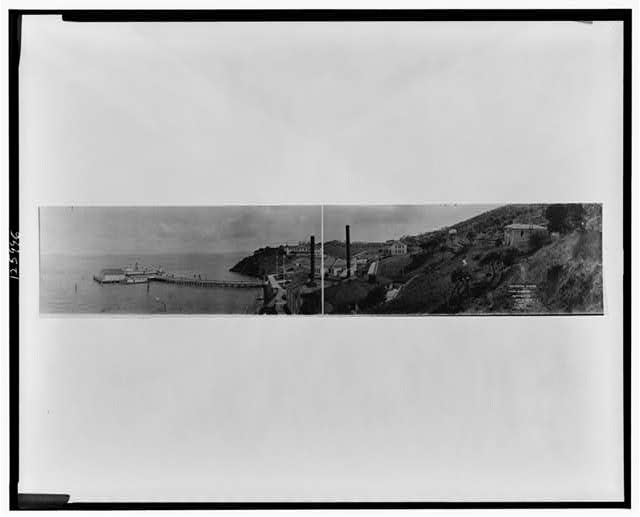 Immigration station, Angel Island, Cal.