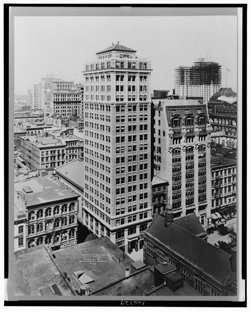 Underwood Building, Church & Vesey Sts.
