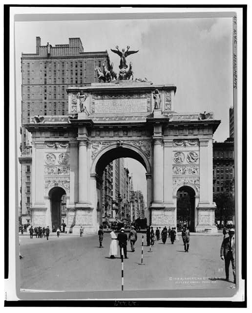 Victory Arch - Fifth Ave.