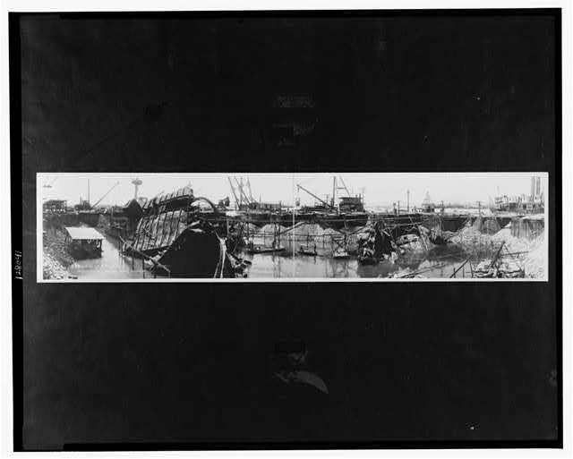 Wreck of the U.S.S. Maine, July 18, 1911